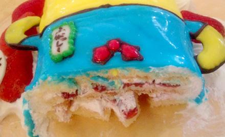 ケーキ工房あるもにのふなっしーケーキ