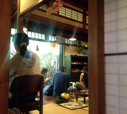 てぬぐいカフェ一花屋