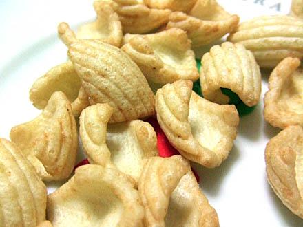 広島銘菓、牡蠣物語スナック