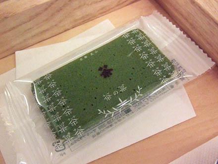 京都北山マールブランシェカフェの茶の菓