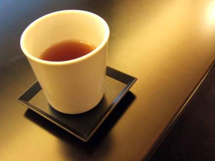 とらや菓寮のお茶