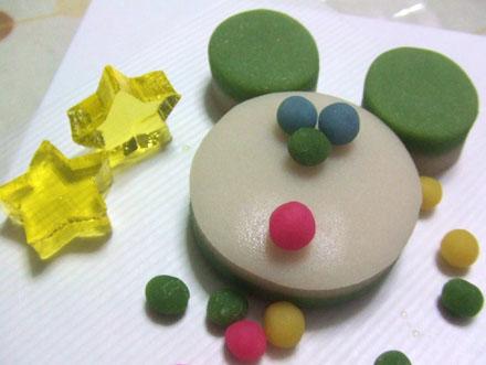 京都末富クリスマス生菓子なんちゃってミッキー