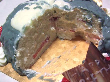隣のトトロの誕生日ケーキ
