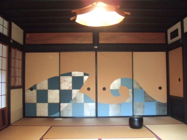 重森三玲邸庭園の茶室