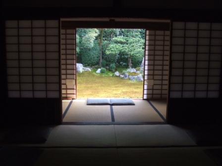 東福寺塔頭寺院の芬陀院