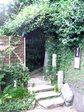 茂庵への入口