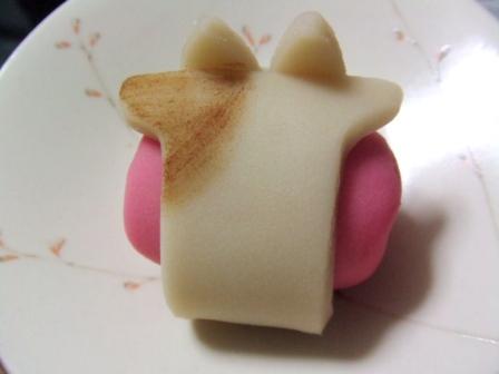 とらやの上生菓子『のどかな朝(あした)』