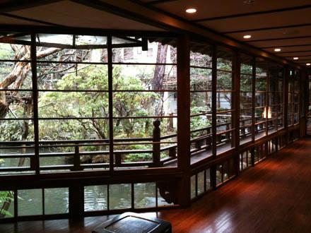 修善寺温泉、湯回廊菊屋