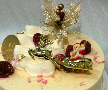 グレゴリー・コレのクリスマスケーキ
