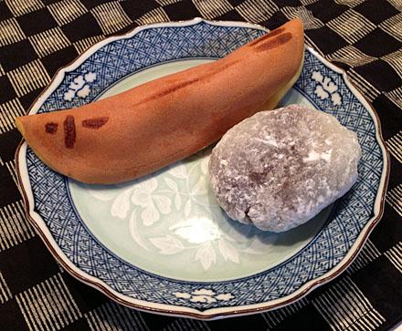文銭堂本舗の和菓子